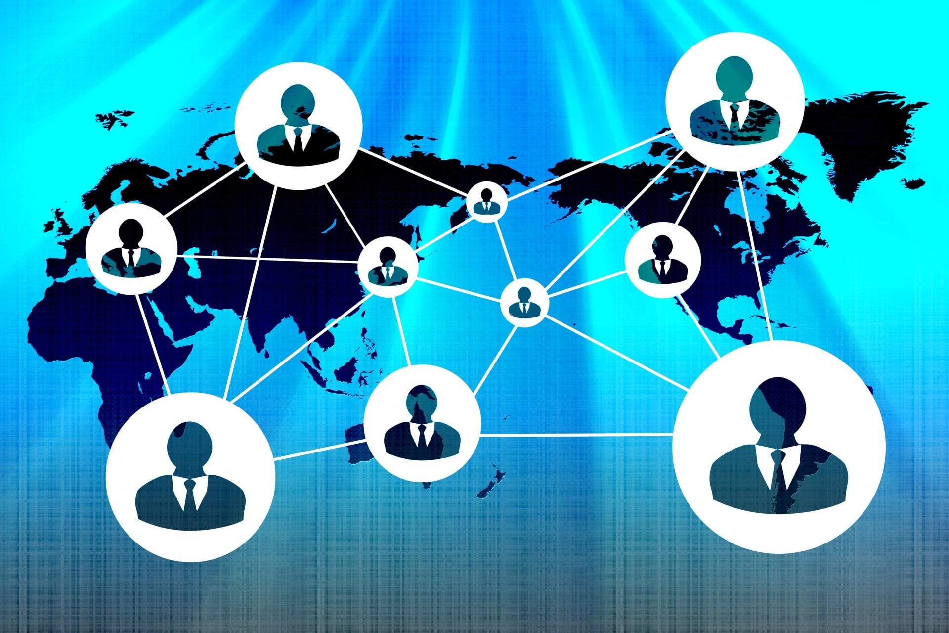 世界を結ぶネットワーク